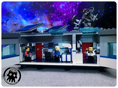 48-43 Side Wall Fully Open (captainmutant) Tags: afol classic space lego ideas legospace legography photography minifig minifigs minifigure minifigures moc sciencefiction science fiction scifi exploration brickography toy custom