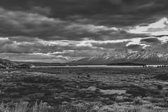 Grand Tetons ins B&W (gauravk.sharma) Tags: national park grand tetons black white landscape