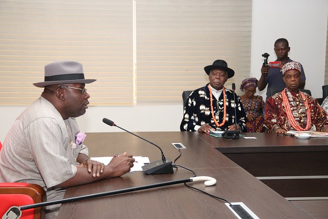 HSDickson Meets With All Bayelsa State First Class Chiefs on 29th May 2018