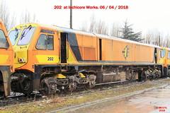 IR_04_2018_408 (HK 075) Tags: rpsi branch line wanderer railtour cie ir ie irish railways éireann iarnróid rail fanning class 071 121 141 181 201 diesel locomotive