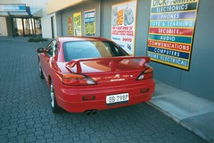 Nissan 200SX (RS 1990) Tags: 2003 australia modbury teatreegully dicksmith outside northeastrd redcar nissan 200sx southaustralia