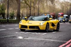 LaFerrari (Supercar Stalker) Tags: ferrari laferrari ferrarilaferrari supercar hypercar london hybrid yellow italian supercarstalker car cars supercars