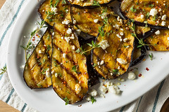 Homemade Grilled Eggplant with Feta (brent.hofacker) Tags: appetizer appetizing aubergine background baked barbecue cheese cooked cooking cuisine dinner dish eggplant food fresh gourmet green grill grilled grilledeggplant healthy herb herbs ingredient meal nutrition organic parsley plate prepared roasted rosemary round rustic sliced slices snack vegan vegetable vegetarian