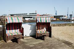 sunny (hansekiki) Tags: lübeck schleswigholstein hafen küstenmöbel strandkorb canon 5dmarkiii