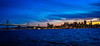 Panoramic view of City Skyline and Bay Bridge at Night viewed from Treasure Island San Francisco CA (mbell1975) Tags: sanfrancisco california unitedstates us city skyline bay bridge night viewed from treasure island san francisco ca sf sanfran fran cisco lights light dusk sunset eveing bluehour blue water ocean pacific skyscrapers towers office buildings skyscraper pano panoramic panorama