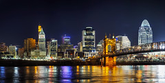 Cincinnati downtown panoramic overview (www.layerplay.design) Tags: allegroprint art bto bungalow canvas decosticker designcollective era fabric furniture furnituresticker hdb ikea interior interiordecor layerplay orangetee porperties poster posterprint print printerior privateestate privatehousing property propertyguru sticker wallart water architecture building cincinnati city cityscape design destinations downtown dusk illuminated lights night office ohio ohioriver panorama panoramic reflection skyline skyscraper suspensionbridge travel twilight urban usa wall waterfront
