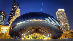 The Bean (paradigmblue) Tags: chicago bean illinois cityscape sculpture cloudgate usa unitedstates us