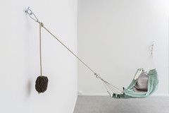 Freedom furniture (Beathe) Tags: fredrikstad øks østfold artcenter kunstsenter hammock mg8162