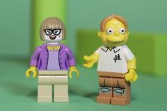 The Simpson kid has finally found a date for the Prom (N.the.Kudzu) Tags: tabletop macro lego minifigures boy girl canondslr primelens manualfocus lensbabyvelvet56 dxoopticspro11
