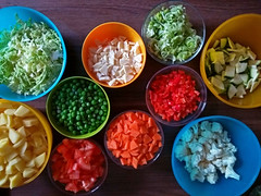 Ready for the pot (aniko e) Tags: vegetarian vegan cooking food vegetables color