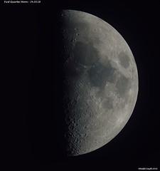 FIRST QUARTER MOON - 24.03.18 (Ralph Smyth) Tags: moon nikon d5300