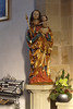 Mariä Himmelfahrt, Bad Königshofen (palladio1580) Tags: madonna heiligemaria gotik portal bayern franken unterfranken landkreisrhöngrabfeld badkönigshofen kirche statue