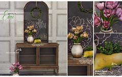 Fameshed - Emi - Ariskea (ariskea) Tags: secondlife home decor ariskea fameshed new spring cute hedgehog flower beautiful