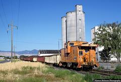 West Jordan Way Car (jamesbelmont) Tags: riogrande drgw caboose midvaletramp railroad railway gondola westjordan utah