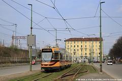 ATM4928 (Davuz95) Tags: atm 4900 revamp tram milano serie nuova via mecenate 27 viale forlanini