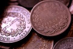 Monnaies (liberthyvi) Tags: macromondays backintheday monnaie empereur argent napoleon hmm