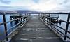 Luss Pier (travellingred) Tags: luss scotland unitedkingdom gb lochlomond trossachs landscape longexposure water mountain