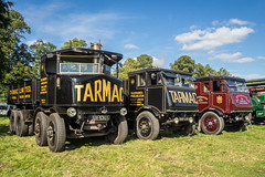 Shrewsbury Steam Rally 2017 (Ben Matthews1992) Tags: shrewsbury salop shropshire england britain old vintage historic preserved preservation vehicle transport haulage steam traction engine sentinel dg8 s4 s6 waggon wagon lorry truck commercial ux5355 brf200 se4013