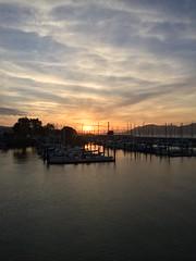 San Francisco sunset tonight (JoeGarity) Tags: ftmason marina sunset sanfranciscobay goldengatebridge sanfrancisco