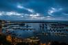 Porto al crepuscolo (Nunzio Pascale) Tags: orablu westcoast marina portodiforio portoturistico rotonda treppiedecullmannmundo522t molo pontile forio mare seaside