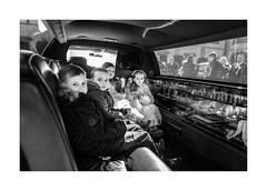 Limousine (Paphylo) Tags: leicaq caravan people reallife wedding carny countryside carnies monochrome přelouč car bridesmaids blackandwhite kids limousine village countrylife document magnifiquephotographie