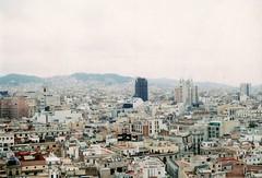 24 (LassintoperiL) Tags: vistas sightseeing barcelona barrio gótico plaça del pi iglesia open house 48 canon at1 analogue analógico fotolibro photobook