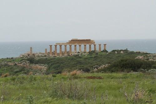 Blick zur Acropoli (Tempel C) , NGID189961739