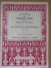 Programa do Teatro da Trindade Abril-Julho de 1967 (ACMateus) Tags: antiguidades coleccionismo velharias