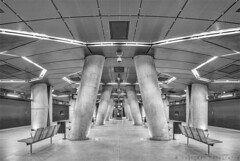 U-Bahn- Severinstraße Köln (henny vogelaar) Tags: germany köln keulen ubahn underground station severinstrasse dxoviewpoint3