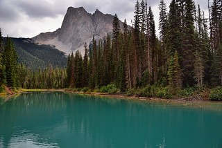 Turquoise Waters of Emerald Lake