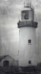 Lighthouse on Loop Head in Ireland, run through the photo app Stackables (elizabatz.jensen) Tags: ireland photoapp stackables lighthouse loophead
