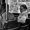 On the King Streetcar / Sur le tram King (H - - J) Tags: blackandwhite noiretblanc monochrome monotone streetcar tram trolley street couple