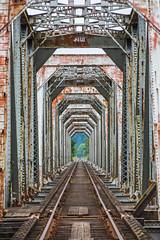 And Show the Way Back Home (Thomas Hawk) Tags: america oregon oregoncoast reedsport usa unitedstates unitedstatesofamerica bridge trainbridge us fav10 fav25 fav50 fav100
