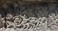 """INDONESIEN, Java, hinduistische Tempelanlage Prambanan, Relief, 17340/9885 (roba66) Tags: reisen travel explorevoyages urlaub visit roba66 asien südostasien asia eartasia """"southeastasia"""" indonesien indonesia """"republikindonesien"""" """"republicofindonesia"""" indonesiearchipelago inselstaat java prambanan tempelanlage tempel temple yogyakarta """"hinduistischetempelanlage"""""""" hinduismus bauwerk building architektur architecture arquitetura statue kulturdenkmal monument fassade façade relief platz places historie history historic historical geschichte unescoworldheritagesite"""