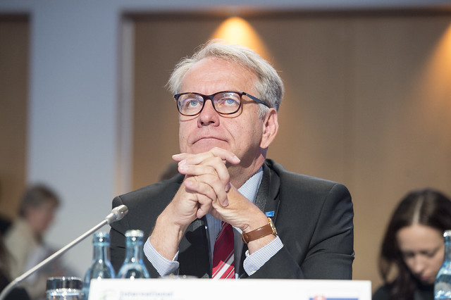 Dr. Peter Lizak reflects at the Closed Ministerial Session