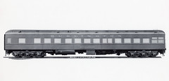 CB&Q Class DL-3 MINNEAPOLIS (Chuck Zeiler) Tags: cbq class dl3 minneapolis burlington railroad passenger lounge car pullmanstandard chz clerestorycoachusstock illinois pullman