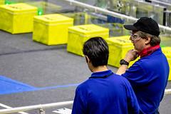 IMG_7519 (holytrinityrobotics) Tags: oakville omgrobots light event coverage robot robotics hersheyscentre gold mechanical electrical pneumatics onchampsfrc first firstcanada frc ontario tronic titans