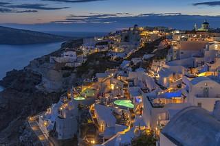 *Oia/Santorini @ blue hour*