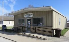 Post Office 50151 (Lucas, Iowa) (courthouselover) Tags: iowa ia postoffices lucascounty lucas
