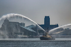 Tall Ships parade, Liverpool (ianbonnell) Tags: liverpool liverpoolanglicancathedral merseyside mersey river