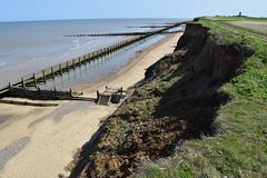 DSC_0311 (.Martin.) Tags: happisburgh coast norfolk sea seaside beach coastal erosion cliff cliffs cley sand rock