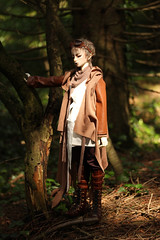 Lycant (Mamzelle Follow) Tags: dollzonebody ansdrizzle anothersecret abjd bjd doll outside wood forest lycant warg