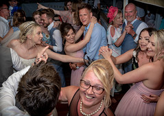 Party time. . . (CWhatPhotos) Tags: cwhatphotos dance dancing 2018 girls woman men couples drink group party fun time happy together groom best man guests smiles smile smiling bride bridesmaids april digital camera pictures picture image images photo photos foto fotos that have which contain olympus seafront golden coast beach blue sky skies sunny day holiday cyprus eastern protaras goldencoastbeachhotel wedding people wide angle prime lens