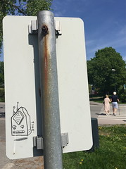 Muga (Oslo) (svennevenn) Tags: radios radio muga tegninger oslo gatekunst streetart drawings
