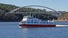 The ship Prinsen in Stockholm (Franz Airiman) Tags: ship fartyg båt stockholm sweden scandinavia boat kronuddenstaxicharterbåtar charter bro bridge svindersviksbron svindersvikbridge