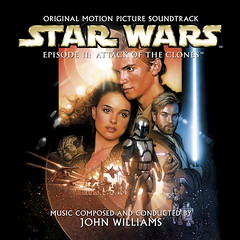 STARWARSII-ATTACKCLONESCD (ESP1138) Tags: star wars attack clones john williams london symphony orchestra voices sony classical records compact disc album cover soundtrack