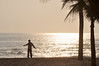 Morning exercise (Roving I) Tags: men exercise health fitness sand sea sunrise horizon palmtrees silhouettes beaches danang lifestyle vietnam