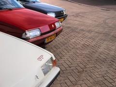 Citroën BX 19 GT / 19 TRS Aut. / 16 TZI Aut. (Skylark92) Tags: nederland nehterlands holland zuidholland southholland vlaardingen haven harbour citroen bx photoshoot tonemapped citroën 19 trs automatic tf40zr 1988 car road gt 1985 07kxp5 sky drhg22 1992 16 tzi