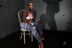N°52 What a view!! (Janay Karowe) Tags: ebony flesh catwa nyne ysoral meva sp kc black ethnic foxes creativestudio slackgirl maitreya