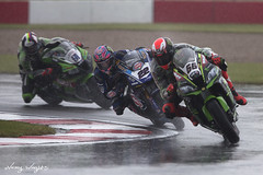 Alex Lowes #22 (FocusedWright) Tags: wsbk worldsuperbike bike bikes motorbike motorcycle race racing track tracks uk england donington doningtonpark wet rain fog cold alexlowes 22 tomstkes 66 leonhaslam 91 2018